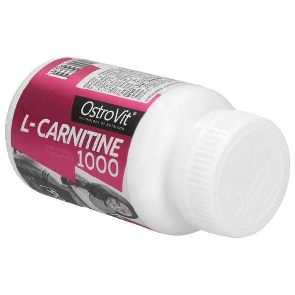 OSTROVIT L-CARNITINE 1000 90T SPALACZ L-Karnityna REDUKCJA TŁUSZCZU zdjęcie 4