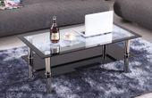 Stolik kawowy ława szklana hartowane szkło stoliki ławy szklane Sendy