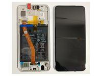 100% Oryg Nowy Przód z LCD i bater P Smart Plus kolor pearl white