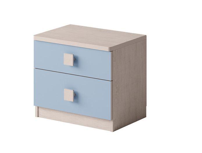 meble dla dziecka z łóżkiem i biurkiem Tenus 4 Kolorystyka - Santana/Niebieski na Arena.pl