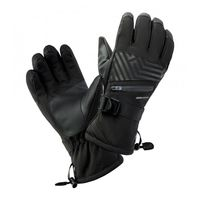 Męskie rękawice narciarskie Hi-Tec Rodeno zimowe snowboardowe czarne rozmiar L/XL