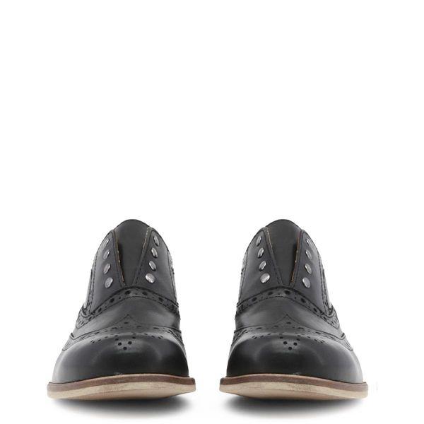 dd4087150ef9d9 Made in Italia skórzane buty damskie oxfordy czarny 38 • Arena.pl
