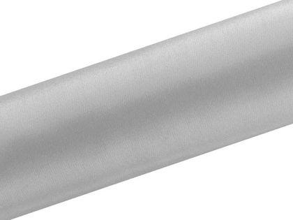 Satyna gładka, srebrna, 0,16 x 9 m