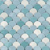Nowoczesna Tapeta odcienie niebieskiego Efekt 3D L59101 Ugepa