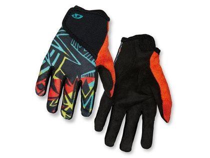 Rękawiczki juniorskie GIRO DND JR II długi palec blast roz. XS (obwód dłoni do 142 mm / dł. dłoni do 155 mm) (NEW)