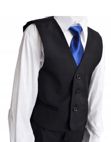 Koszula galowa z kamizelką +krawat 104/110 , 2 kolory na Arena.pl