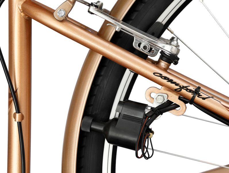 Rower Romet Margot 28'' ECO 6b złoty zdjęcie 5