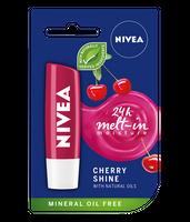 Nivea   Pielęgnująca Pomadka Do Ust - Cherry Shine ( Wiśnia) - 5,5G