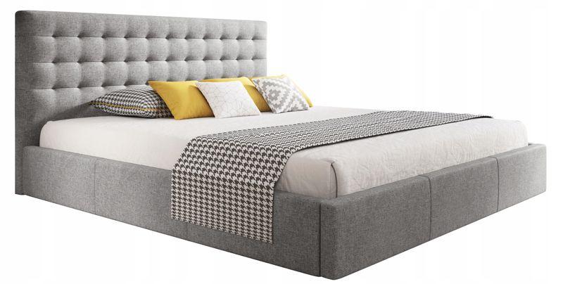 łóżko Vero 180x200 Pojemnik Metalowy Stelaż