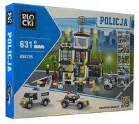 KLOCKI MYPOLICE POLICJA DUŻY POSTERUNEK POLICJI 631 EL.