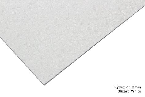 Kydex Blizzard White - 200x300mm gr. 2mm