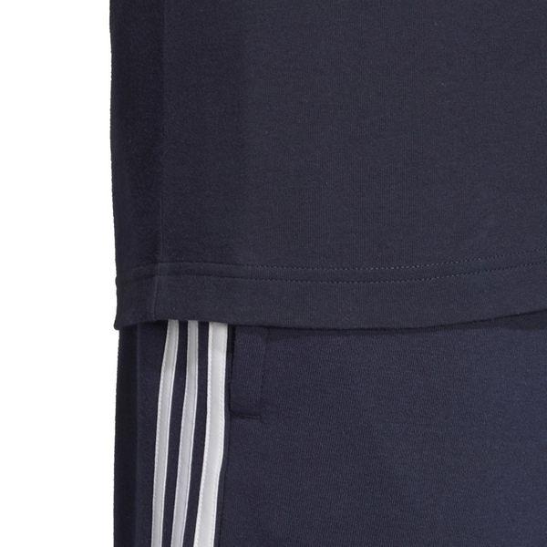 Koszulka adidas Essentials 3 Stripes Tee granatowa DU0440 XL zdjęcie 5