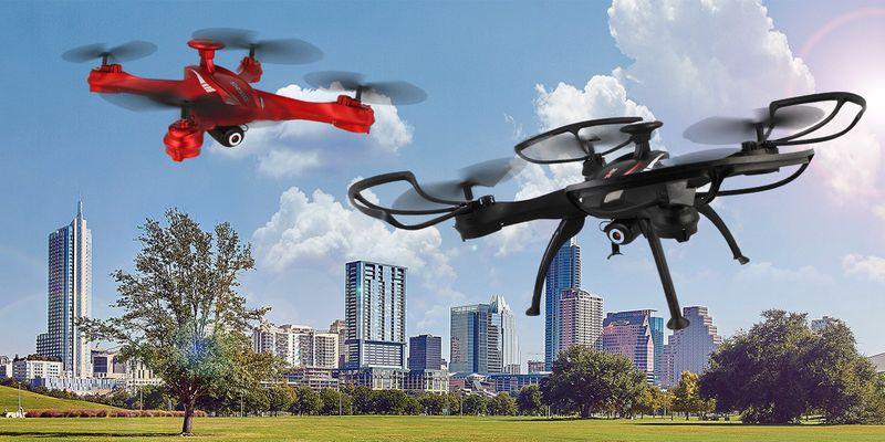 DRON EVOSTAR Explorer RQ77-14W z Kamerą WiFi 6Axis 3Aku Czarny Z25C zdjęcie 3