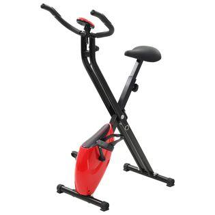 Magnetyczny Rower X-Bike Z Pomiarem Tętna, Czarno-Czerwony