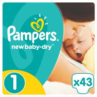 Pieluchy Pampers New Baby 1 Newborn (43 sztuki) 3314