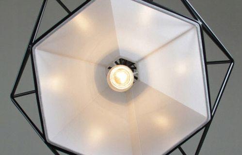 Lampa wisząca IRON ROUND EDISON FIGURA GEOMETRYCZNA DIAMENT 665420 na Arena.pl
