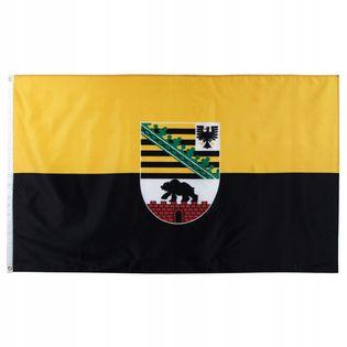 Flaga na maszt 90 x 150 cm Saksonia-Anhalt