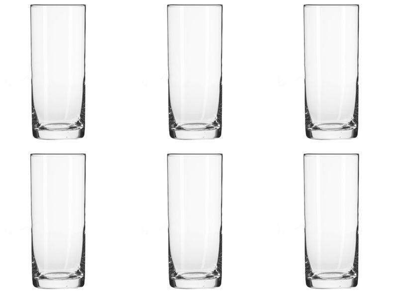6 szklanek wysokich long drink 300 ml BASIC KROSNO zdjęcie 1