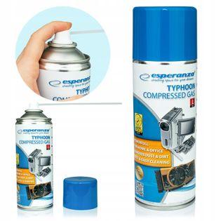 Sprężone powietrze w sprayu do czyszczenia 400ml