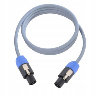 KL05NL25, Kabel głośnikowy 2 x 1,5 mm², 2-stykowy Neutrik Speakon – 2-stykowy Speakon, 0,5m
