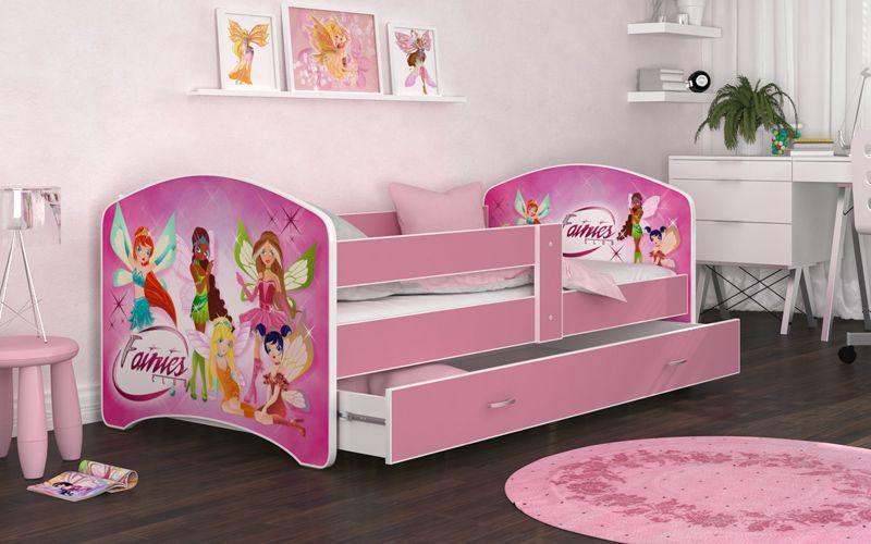Łóżko 180x90 LUCKY szuflada + materac zdjęcie 4