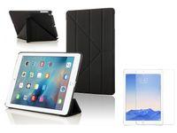 Etui Origami 9.7 Case Apple iPad Air 1 + Szkło Hartowane 9H