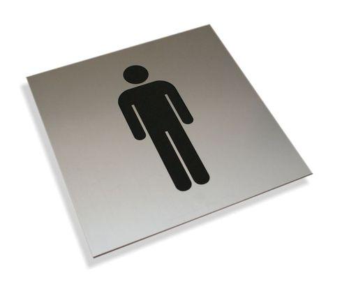 Tabliczki informacyjne na drzwi piktogram toaleta męska tabliczka na Arena.pl