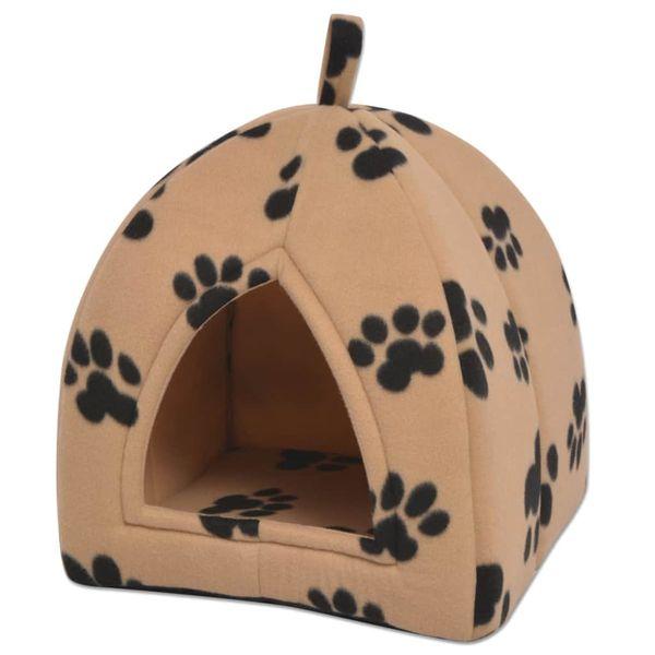 f8cdb79e5061ba Domek dla kota, rozmiar L, beżowy • Arena.pl