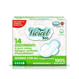 Vivicot Bio Podpaski Higieniczne Z Bio Bawełny 14