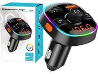 Transmiter FM Bluetooth ładowarka 2x USB (BC52)