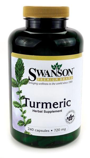 Turmeric kurkuma 720mg 240 tabletek Swanson zdjęcie 1