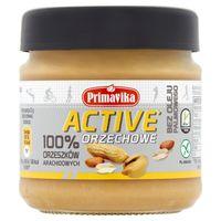 Masło orzechowe active 100% orzeszków arachidowych 185 g Primavika