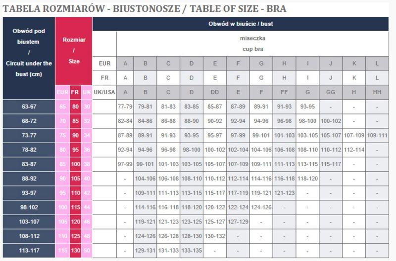 ffbba77c5f5edb BIUSTONOSZ AVA 808 PUSH UP Kolor - ECRU, Rozmiar - 75B • Arena.pl
