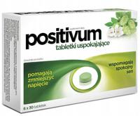 Positivum tabletki uspokajające nerwy sen 180 tabletek