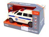 Jeep Realistyczna Policja Napędem Światło Dźwięk