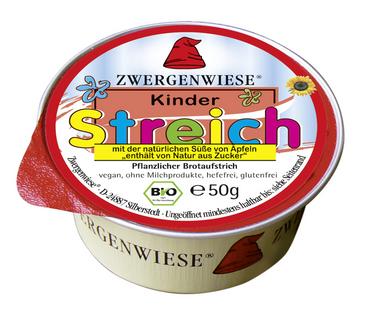 Pasta słonecznikowa dla dzieci bez dodatku cukrów bezglutenowa BIO 50 g - ZWERGENWIESE