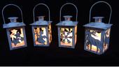 METALOWY LAMPION NA ŚWIECZKĘ, PODGRZEWACZ - RÓŻNE WZORY