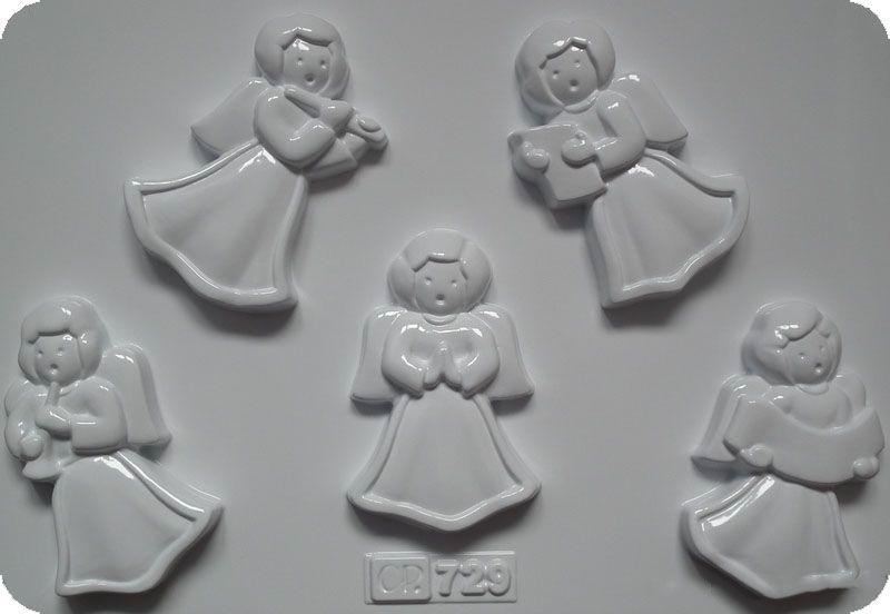 Forma do odlewów - Odlewy gipsowe - Pięć aniołków (CG729) na Arena.pl