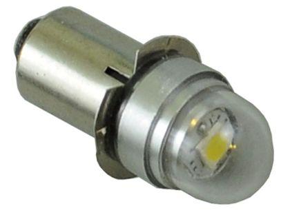mocna żarówka LED z kołnierzem px13.5  cree UHP do latarki 3v