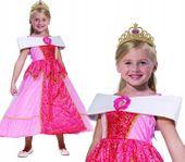 KSIĘŻNNICZKA Strój na Bal 116 KRÓLEWNA Barbie