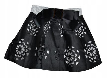 Spódnica elegancka Diana, czarna roz.128