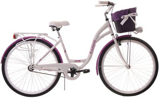 Kozbike Damski Rower Miejski 28 Damka 1 Bieg z Koszem (15)