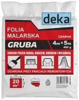 FOLIA MALARSKA GRUBA CZARNA 4*5M 450G uni