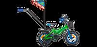 ROWER ROWEREK DZIECIĘCY BMX 12 KARBON NIKI ZIELONO-NIEBIESKI 2-5L