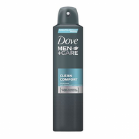 Dove Men+Care Clean Comfort Antyperspirant w aerozolu 250 ml
