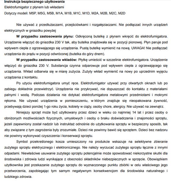 Bros  Zestaw - Elektrofumigator + Płyn Owadobójczy Na Komary(Sensitive) - Dla Dzieci (60 Nocy) na Arena.pl