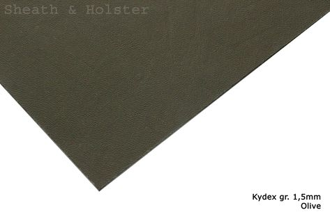 Kydex Olive - 150x200mm gr. 1,5mm