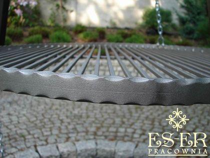 Ruszt do grilla wiszącego - stalowy - okrągły - 60 cm ES-ER