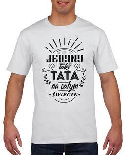 Koszulka męska JEDYNY TAKI TATA DZIEN OJCA M