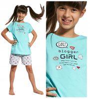 Piżama dziewczęca Cornette 787/56 Blogger 86-92